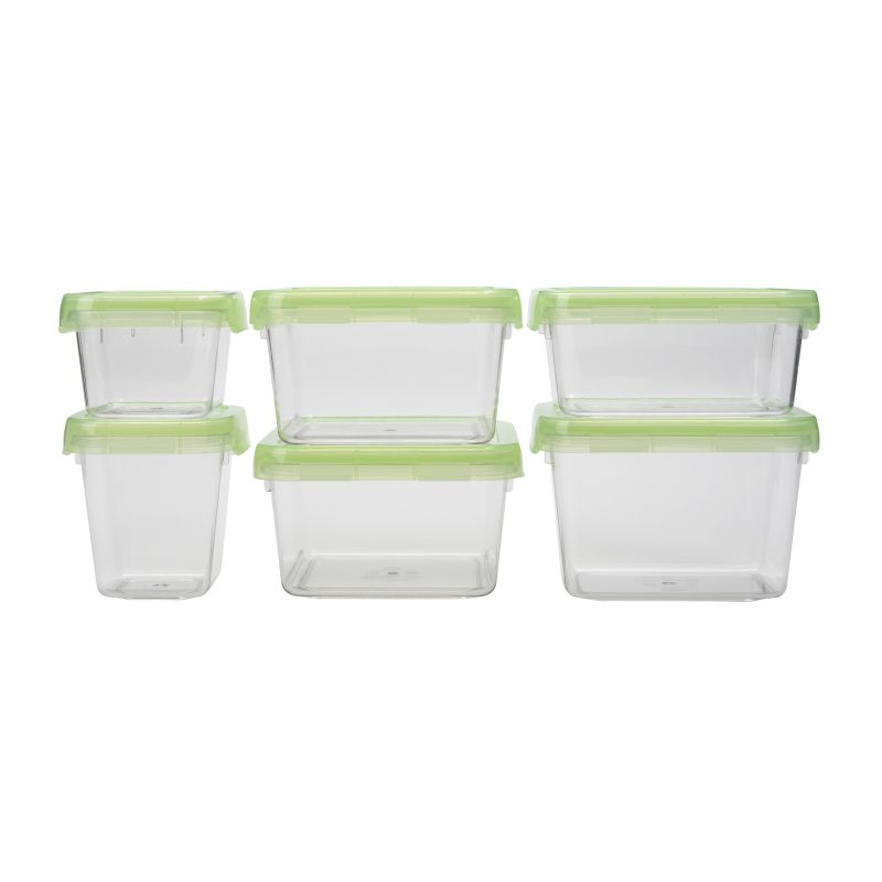 OXO - Good Grips LockTop 12-Piece Container Set - Green 93758442