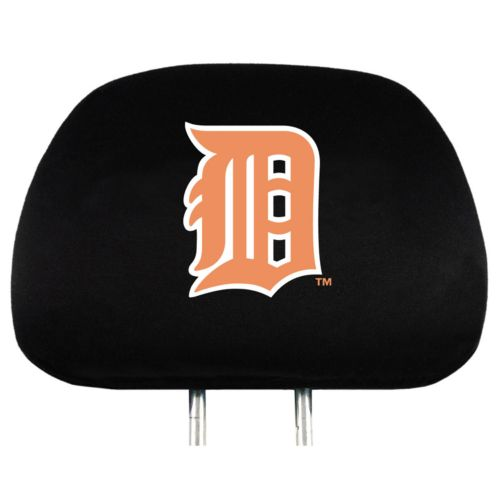 Detroit Tigers Head Rest Covers