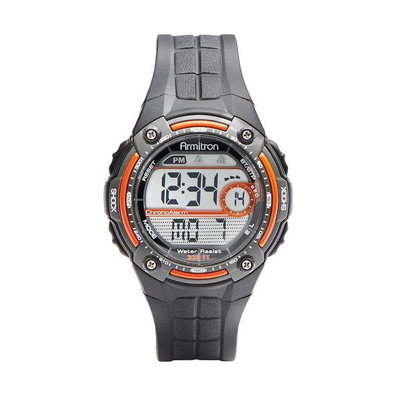 Armitron Men's Digital Chronograph Watch - 40/8189ORG