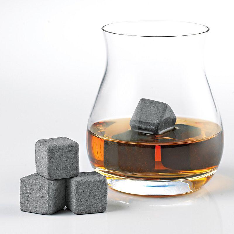 Wine Enthusiast Arctic Rocks 6-pc. Whiskey Stone Set