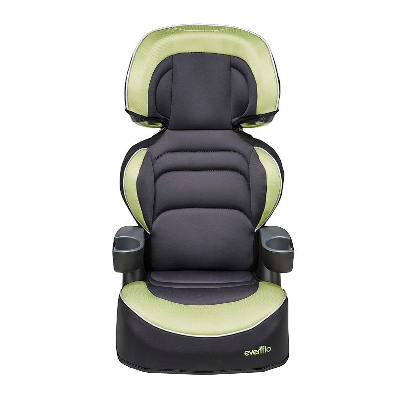 evenflo big kid xl convertible booster seat polo green. Black Bedroom Furniture Sets. Home Design Ideas