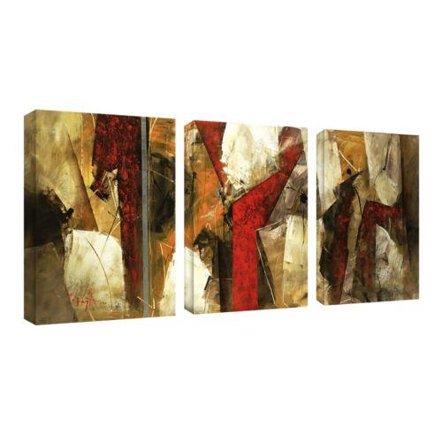 3-pc. ''Abstract IX'' Wall Art Set