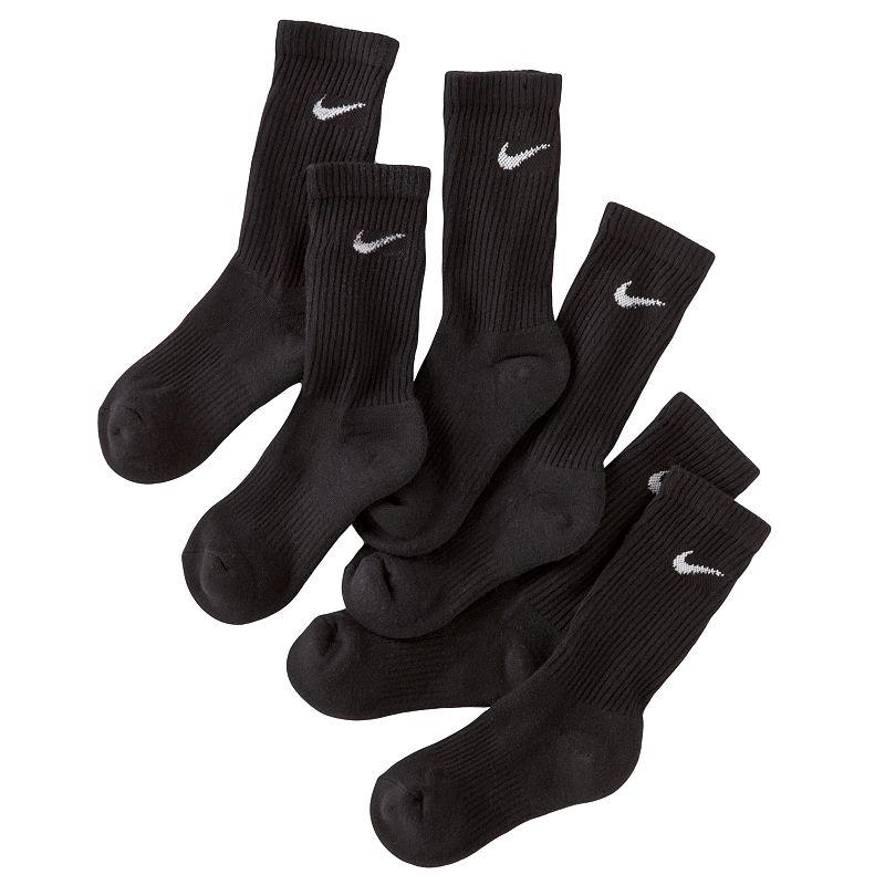 Boys Nike 3-pk. Cushioned Crew Socks
