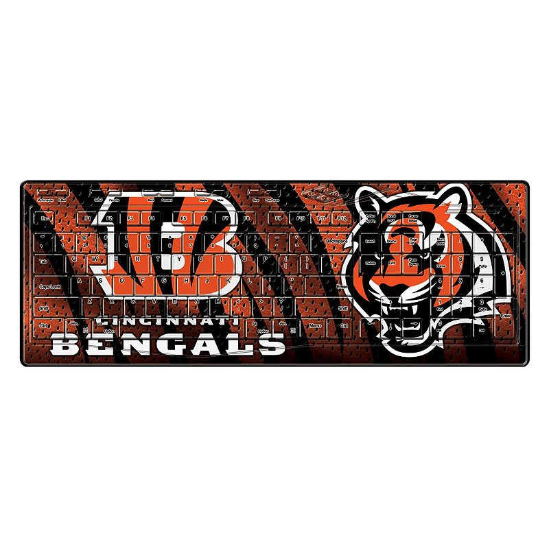 Cincinnati Bengals Wireless Keyboard