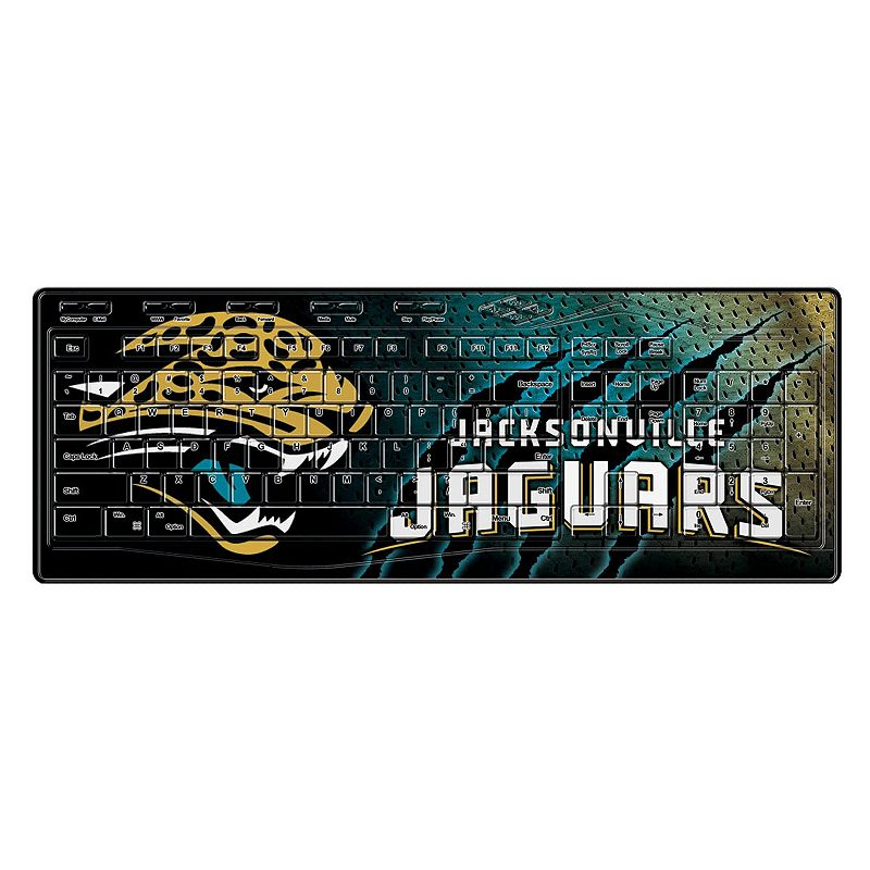 Jacksonville Jaguars Wireless Keyboard