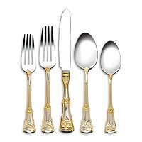 Royal Albert Old Country Roses 18/10 Stainless Steel 20-pc. Flatware Set