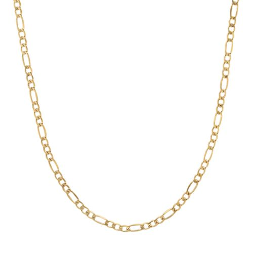 Everlasting Gold 14k Gold Figaro Chain Necklace - 20-in.