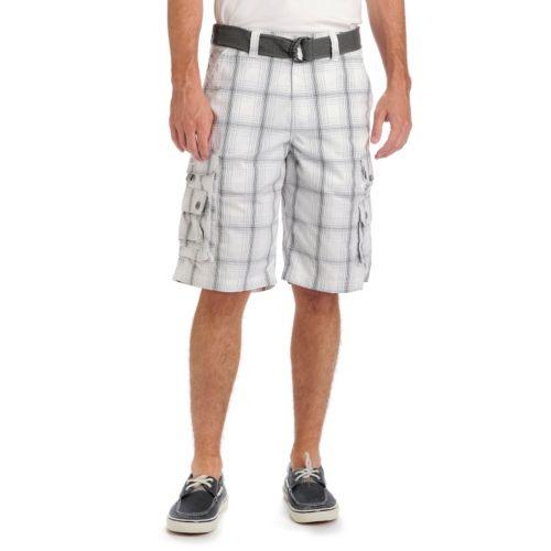 Big & Tall Lee Solid Cargo Shorts