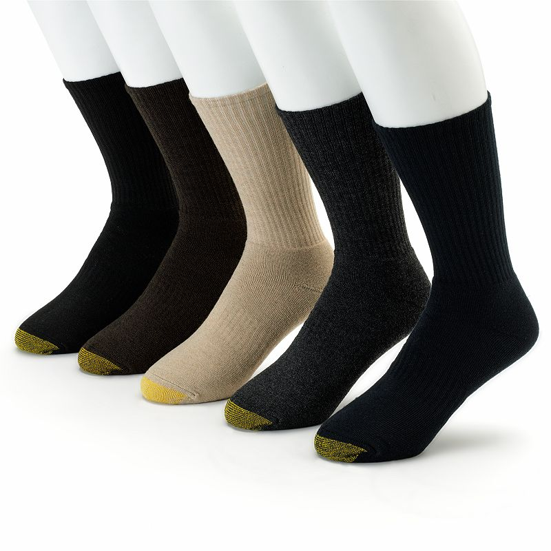 Men's GOLDTOE 5-pk. Casual Crew Socks
