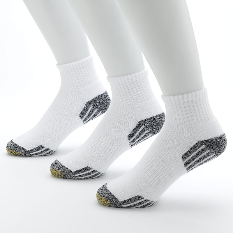 Men's GOLDTOE 3-pk. G-Tec Outlast Quarter Athletic Socks