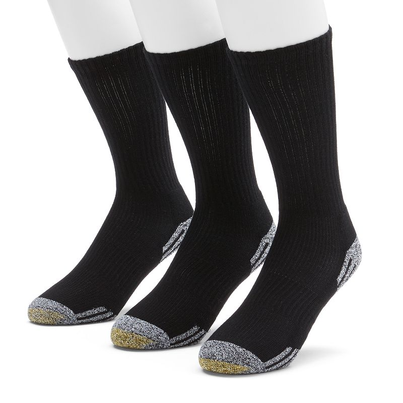 Men's GOLDTOE 3-pk. Outlast Temperature Control Crew Socks