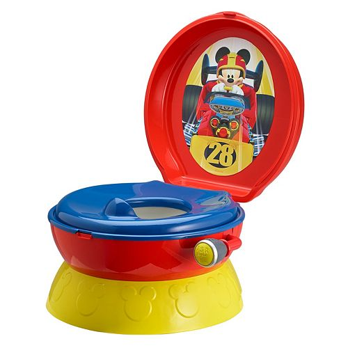 Cars Red Blue Red  In  Potty Chair