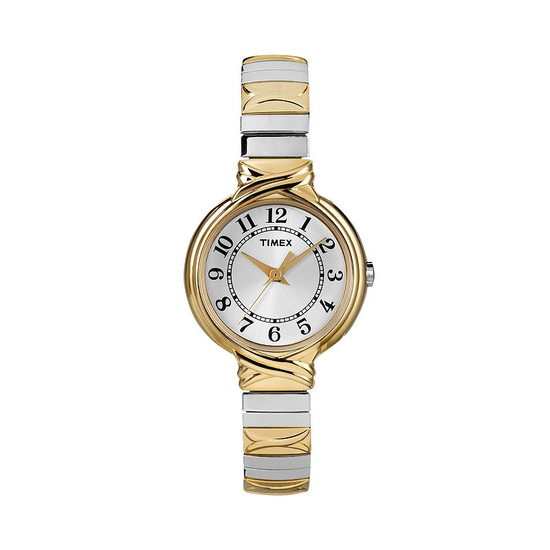 Timex Two Tone Stainless Steel Expansion Watch - T2N979 - Women