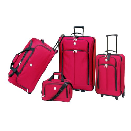 Travelers Club 4-Piece Luggage Set