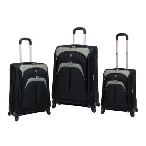 Travelers Club Luggage, 3-pc. Spinner Luggage Set