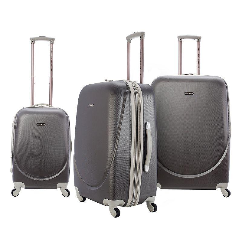 Travelers Club 3-Piece Hardside Spinner Luggage Set
