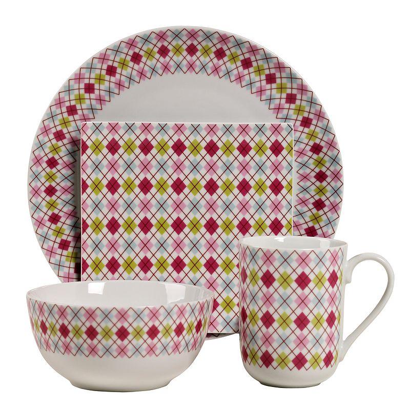 Tabletops Gallery Argyle 16-pc. Dinnerware Set