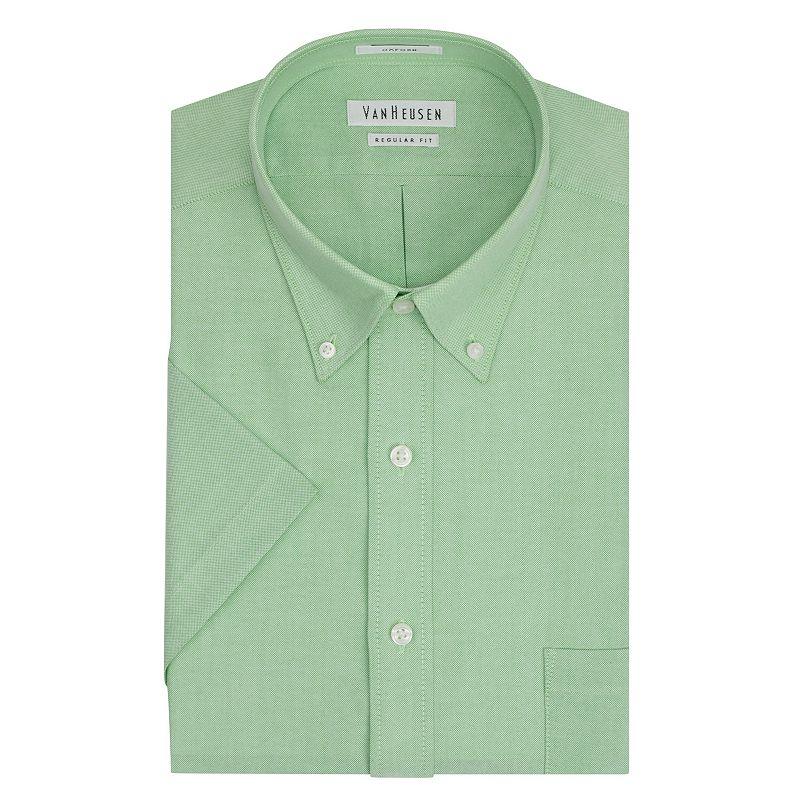 Men's Van Heusen Regular Fit Oxford Easy-Care Button-Down Collar Dress Shirt