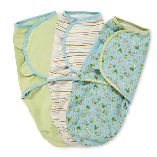 Summer Infant 3-pk. Original SwaddleMe - Dinos