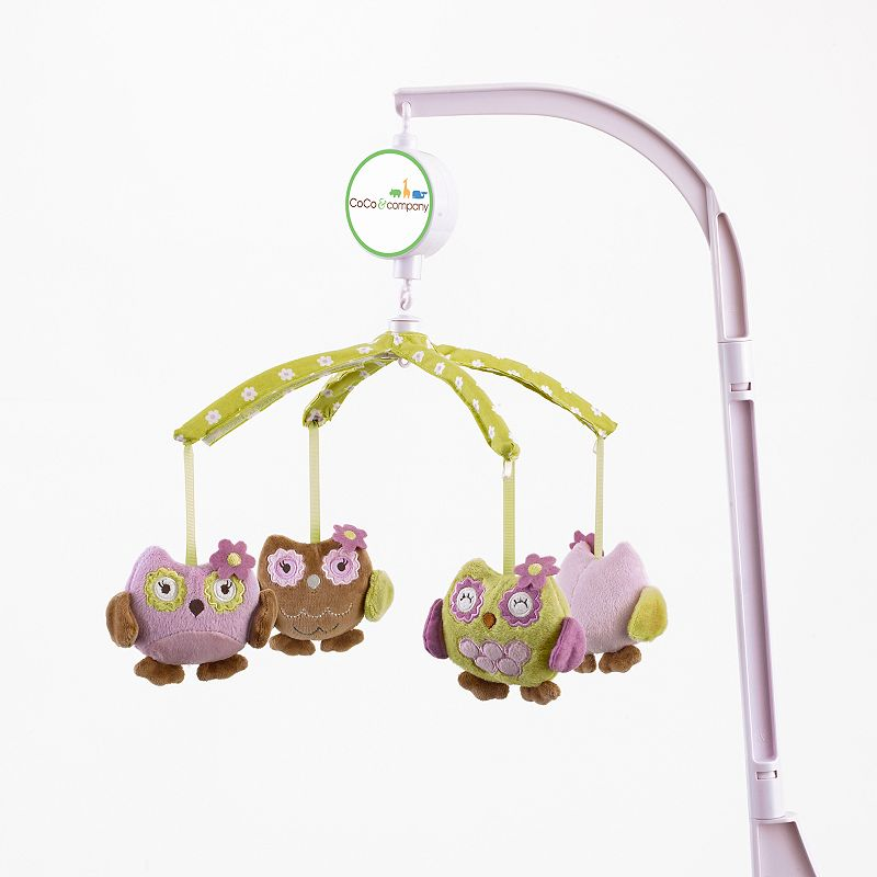 CoCo and Company Owl Wonderland Musical Mobile