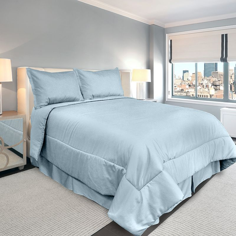Veratex American Collection 300-Thread Count Solid Comforter Set