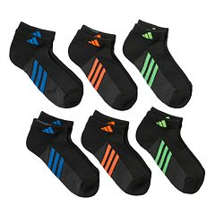 Boys Adidas ClimaLite Low-Cut Socks