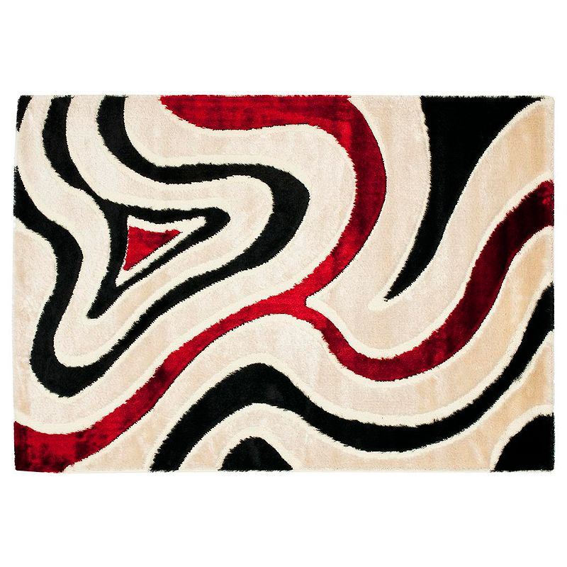 Safavieh Shag Swirl Rug - 5'3'' x 7'6''