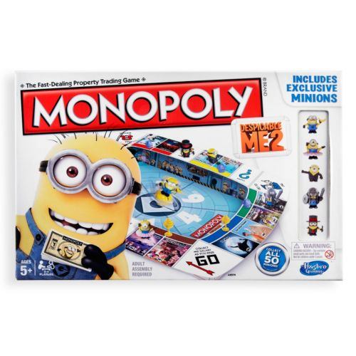 Despicable Me 2 Monopoly Game by Hasbro