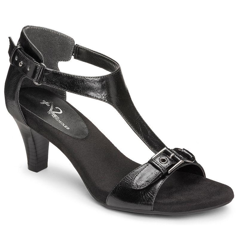 A2 by Aerosoles Lollipowp Women's T-Strap Dress Sandals