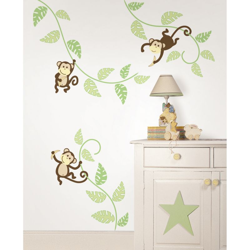 target jungle wall decals color the walls of your house target jungle wall decals wallpops monkeying around wall decals brown