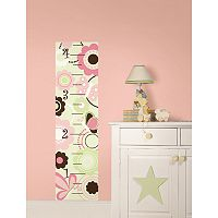 WallPops Butterfly Garden Growth Chart Wall Decals