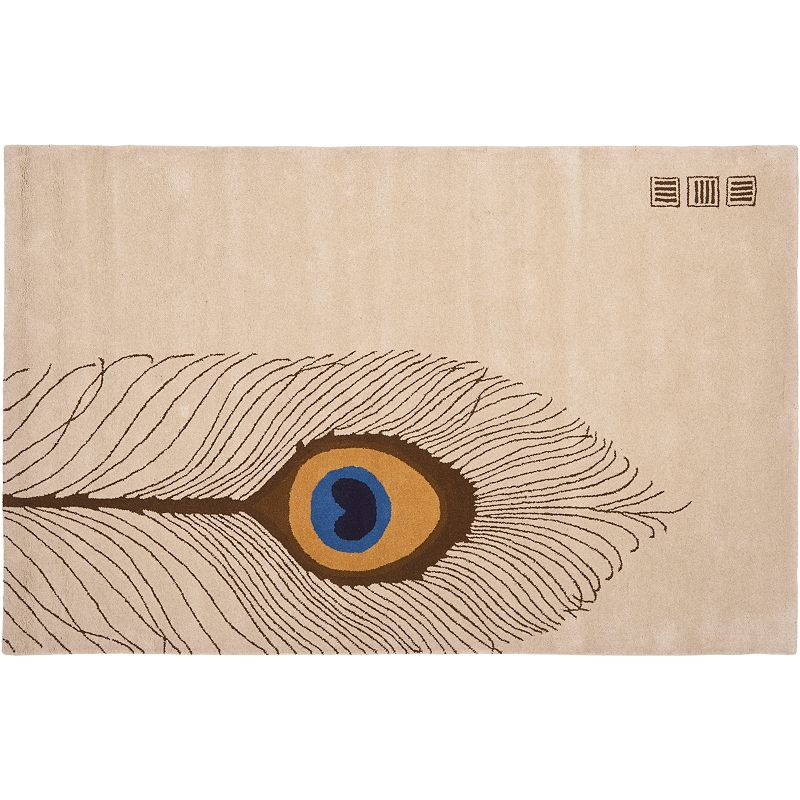 Safavieh Soho Peacock Feather Rug - 5' x 8'