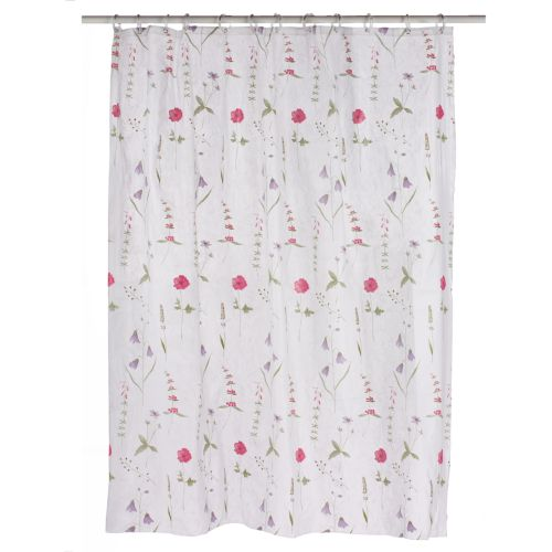 Home Classics® Poppies Vinyl Shower Curtain