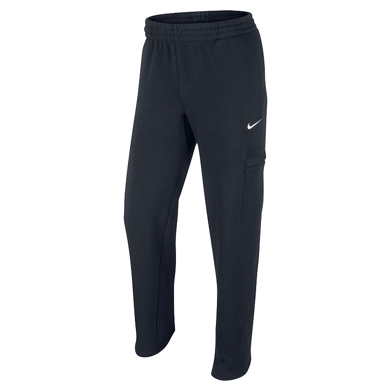 Men's Nike Club Swoosh Utility Fleece Athletic Pants