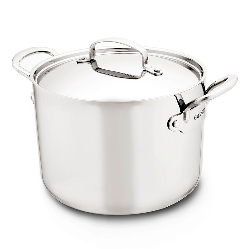 GreenPan Barcelona 8-qt. Ceramic Nonstick Aluminum Stockpot