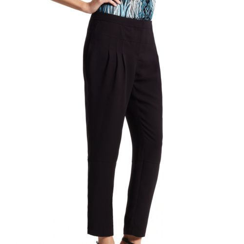 Derek Lam for DesigNation Pleated Crepe Crop Pants - Women's