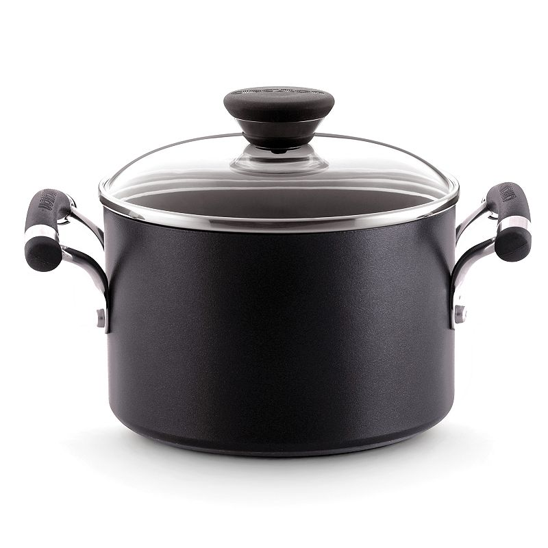 Circulon 3-qt. Nonstick Hard-Anodized Covered Saucepot
