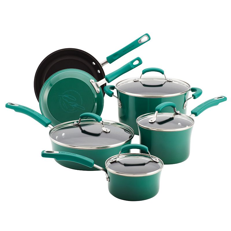 Rachael Ray 10-pc. Nonstick Cookware Set