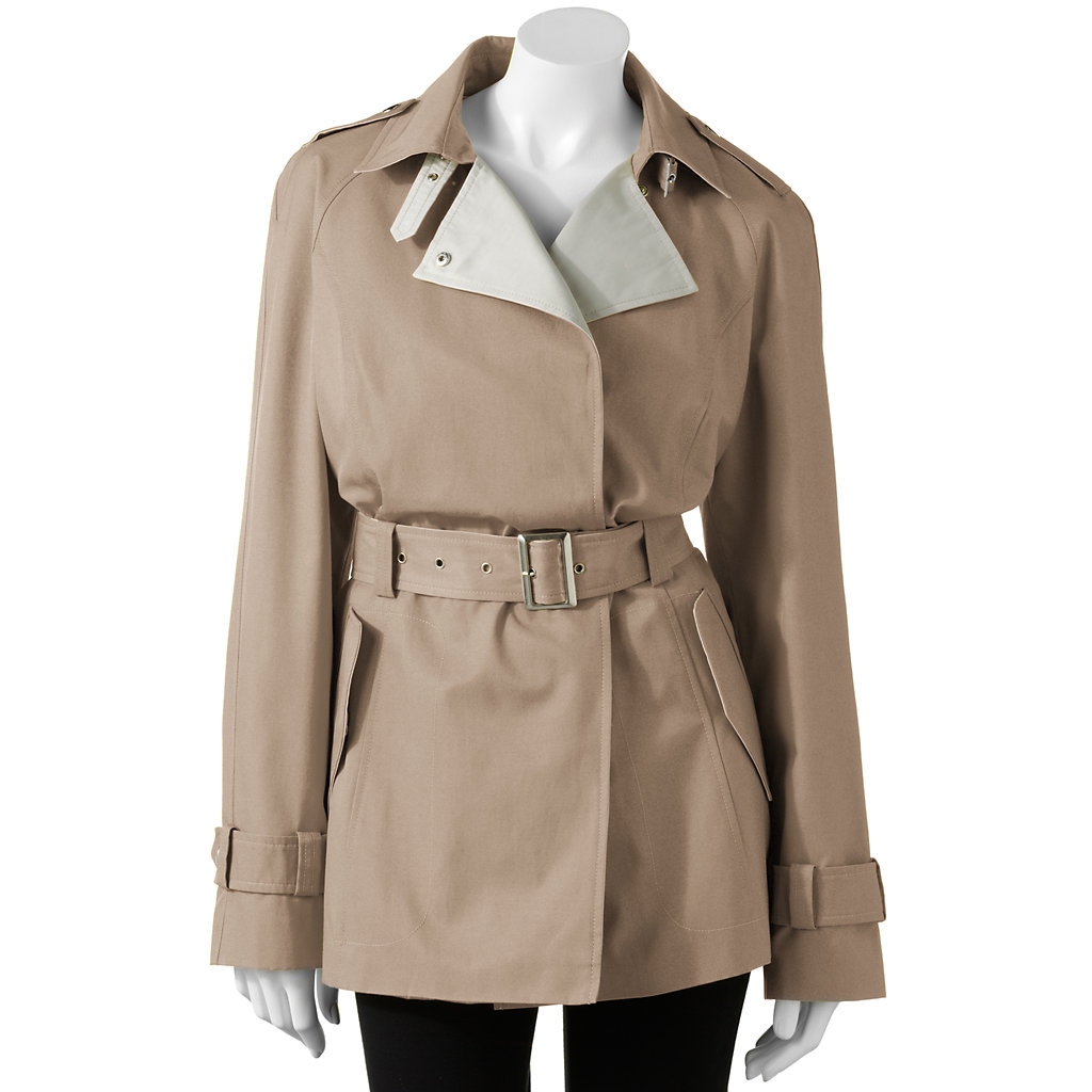 Giacca Solid Trench Coat