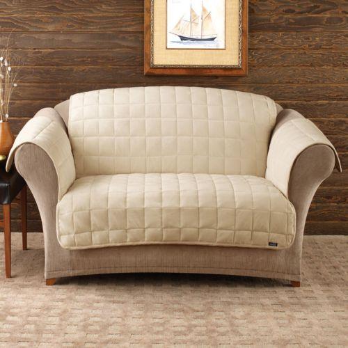 Sure Fit Deluxe Comfort Loveseat Slipcover