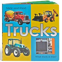 Slide & Find Trucks Book