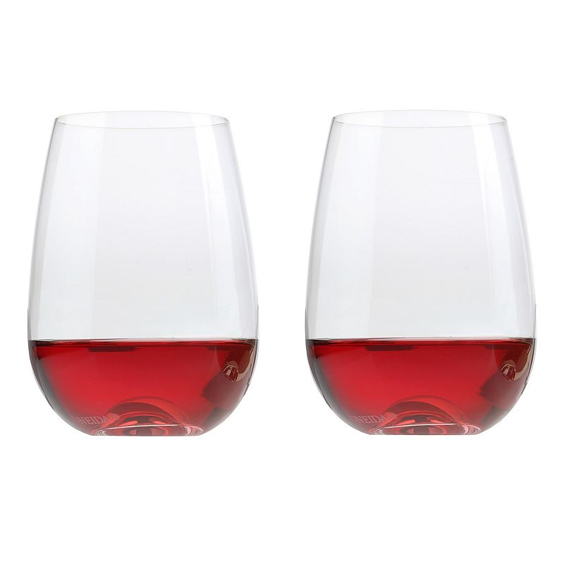 Oneida Aquarius 2-pc. Stemless Red Wine Glass Set