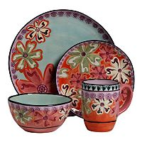 Kathy Davis Hearts & Flowers 4-pc. Place Setting