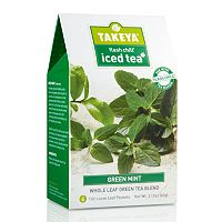 Takeya Flash Chill Green Mint Whole Leaf Iced Tea Blend