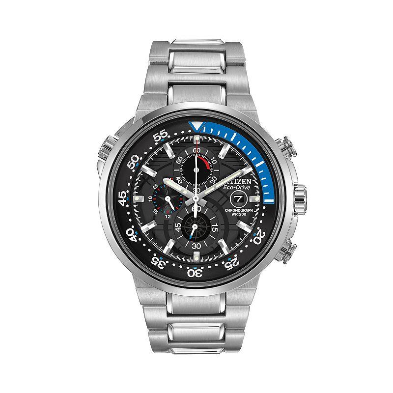 Citizen Eco-Drive Men's Endeavor Stainless Steel Chronograph Watch - CA0440-51E