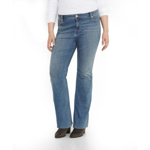 Plus Size Levi's Defined Waist Bootcut Jeans