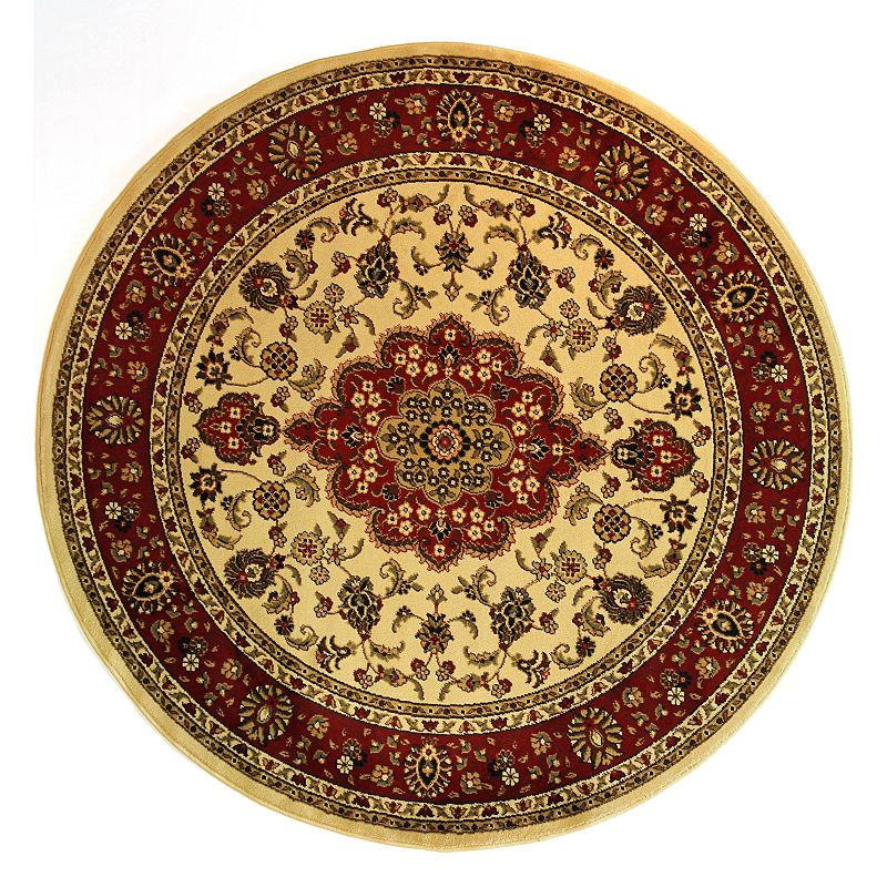Infinity Home Barclay Medallion Kashan Rug - 5'3'' Round