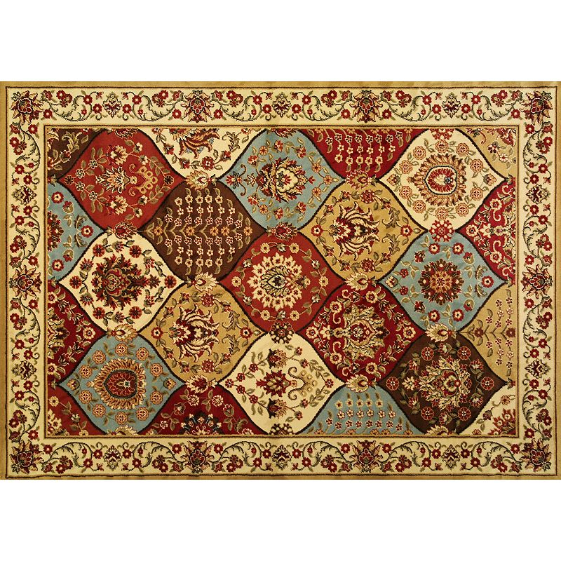 Infinity Home Barclay Wentworth Panel Rug - 5'3'' x 7'3''