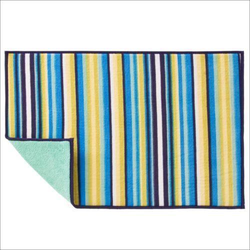 Fiesta Striped Dish-Drying Mat