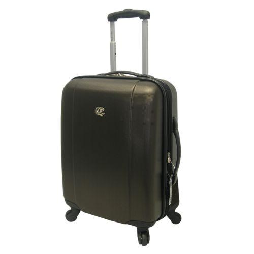 Oleg Cassini Luggage, Hardside 20-in. Spinner Carry-On
